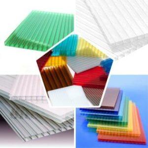 поликарбонат различных цветов