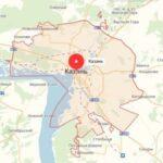 Теплицы в Казани. Карта